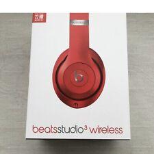 Beats STUDIO3 WIRELESS Over Ear👂Headphones 🎧 RED Apple🍎W1 Chip No ANC