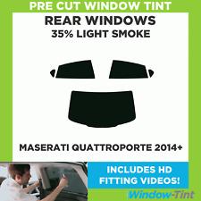 Pre-tagliata Window Tint Maserati Quattroporte 2014+ - 35% luce posteriore