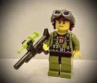 LEGO Dino Pilot Hero Minifigure - #5887 #5888 #5886