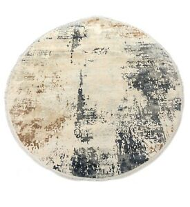 """6'7"""" x 6'7"""" ft. Trend Contemporary Round Rug"""