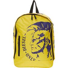 DIESEL Backpack, Yellow & Purple, Laptop Sleeve, 40 x 27 x 12 cm
