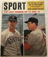 1959 Sport Magazine ST LOUIS Cardinals STAN MUSIAL Ted WILLIAMS The Last Summer