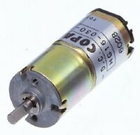 4.8-14.8V 300RPM at 12V 50:1 G.R. Lot of 3 Copal DC Gear Motor LA16G-324SH
