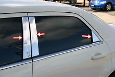 CHRYSLER 300/300C 2004-2012 Chrome Door Post Pillars 4Doors 6Pcs S.Steel