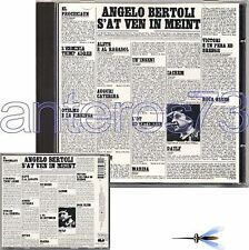 "PIERANGELO BERTOLI ""S'AT VEN IN MENT"" RARO CD FUORI CAT"