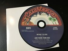RARE CD Single  Kiss - Nothin' To Lose/ Love Theme From Kiss   CASABLANCA NM