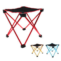 Compact Ultralight Portable Folding Camping Backpacking Stool Chair with Bag