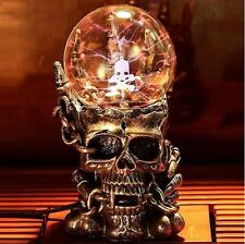 TREASURE SKULL MAGIC BALL LAMP - Skull Form Plasma Ball - HOT SALE 2017