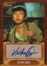 KE HUY QUAN: 2008 Topps Indiana Jones Heritage Authentic Autograph card