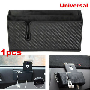 1x Car Universal Storage Pouch Phone Box Holder Pocket Organizer Accessories