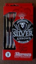 Harrows Silver Arrows 18g Soft Tip Darts Set 54407 Arrow Dart with FREE Shipping