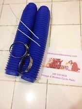 Suzuki RMX250 RM250 RM465 RM500 RM 250 465 500 Fork Boots ROYAL BLUE - NEW!