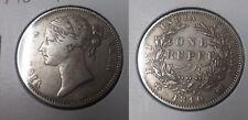 1840 British India Siver Rupee Victoria