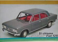 Fiat 125 berlina depliant originale