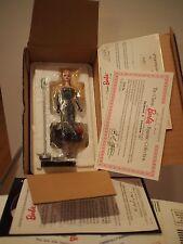 Nib Vintage Danbury Mint 1996 Barbie Figurine Coa Solo In The Spotlight Mattel