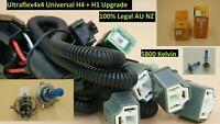 Ultraflex4x4 Halogen 5800K  Upgrade Kit H4 and H1 Don't waste $400 ! 100% Legal
