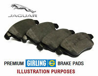 JAGUAR XF 3.0 DIESEL 3.0D (2009-) FRONT PREMIUM GIRLING BRAKE PADS SET