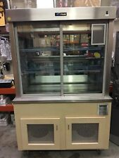 Refrigerated Display,  Mirrored Self-Contained with storage