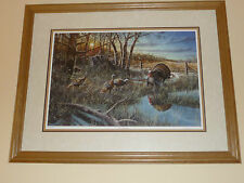 """Jim Hansel """"The Challenge"""" Signed and Numbered Gliche"""