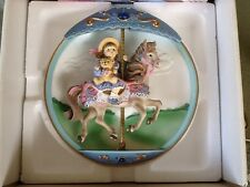 """Bradford Exchange """"When I Grow Up"""", 2nd of the Carousel Daydreams collection"""