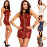 Sexy Women Clubbing Mini Dress New Ladies Evening Party Top Size 8 10 12 Blouse