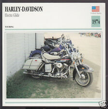 1974 Harley-Davidson Electra Glide FLH 1200cc 1213cc Bike Motorcycle Photo Card