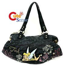 Disney TinkerBell Denim Shoulder Bag Hand Bag Long Large