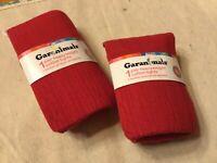 Girls GARANIMALS 18-36 Mos Heavyweight Cotton Tights   CLASsic  Red Gray