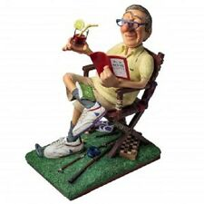 The RETIREE ~ GUILLERMO FORCHINO Comical Hand Made Detailed & Painted Sculpture