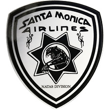 Natas Kaupas Santa Monica Airlines Sma Division Panther Skateboard Decal Sticker