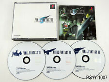 Final Fantasy 7 VII Playstation 1 Japanese Import Rgn PS1 JP Japan US Seller