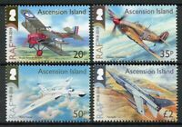 Ascension Island Aviation Stamps 2018 MNH RAF Royal Air Force Avro Vulcan 4v Set