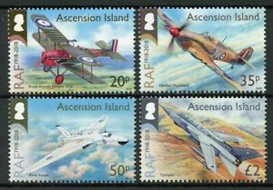 Ascension Island Aviation Stamps 2018 MNH RAF Royal Air Force Avro Vulcan 4v Set