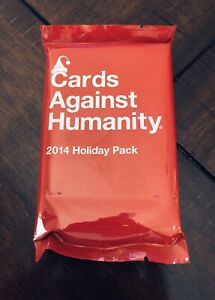 Cards Against Humanity - 2014 Holiday Pack - Expansion Set New Stocking Stuffer