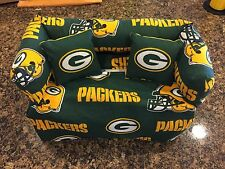 Greenbay Packers Sofa Tissue Box Cover With Pillows