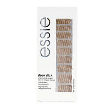 Essie Sleek Stick Nail Stickers - 02 Croc 'n Chic - 18 x Applique, File, Buffer