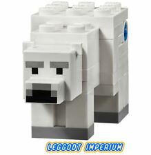 LEGO Minifigure - Minecraft Polar Bear - animal FREE POST