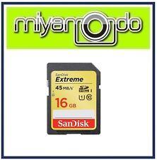 SanDisk Extreme 16GB SDHC Memory Card