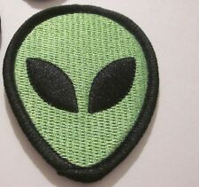"""ROSWELL UFO ALIEN """"1"""" PATCH AREA 51 SOUVENIR COLLECTIBLE 2.75x2 INCH #77"""
