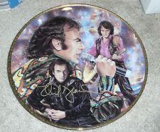 Neil Diamond Autographed Limited Edition Gartlan Plate Signed artist remarks