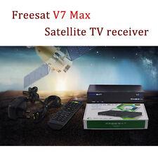 Freesat V7 Max DVB-S2 HD Satellite TV Receivers Youtube Power 1080P Full HD WIFI