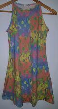 Ladies Dress Size 8 Pink Blue Topshop <MJ3878
