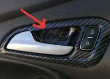Ford Focus LHD MK3 (2012-2014) Carbon Fibre Look Interior Door Handle Trims. UK