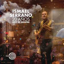 20 Años Hoy Es Siempre En Directo - Serrano Ismael 2CD & DVD Set Sealed ! New !