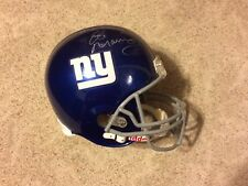 ELI MANNING Signed Autographed Full size New York Giants Helmet STEINER Inscript