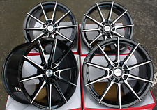 "18"" ALLOY WHEELS FIT FOR FORD FOCUS KUGA EDGE ESCAPE FUSION ST AYR 01 VF BP"