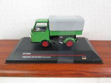 IST MODELS. Multicar M22 Coverd. 1965. Green / Grey. 1:43. IST289R.