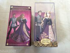New Disney Store Aurora Briar Rose & Prince Philip Doll Set Limited Edition