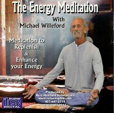 Guided Meditation for Energy, Replenish & Enhace your Vitality, Audio CD