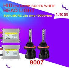 2x DSV HID headlight Kit 9007 HB5 Hi/Low Beams 6000K Replace Light Bulb Bi-Xenon